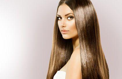 Блестящие, здоровые, длинные волосы
