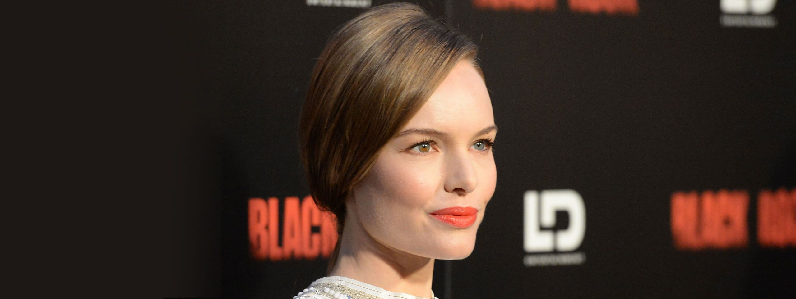 Kate Bosworth con un'acconciatura rapida