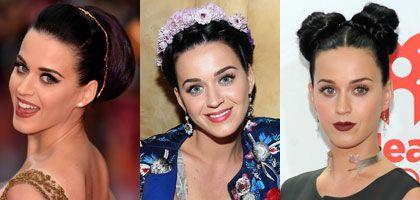 Les coiffures relevées de Katy Perry
