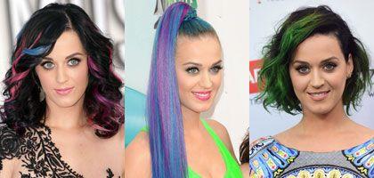 Fryzjerskie wybory Katy Perry