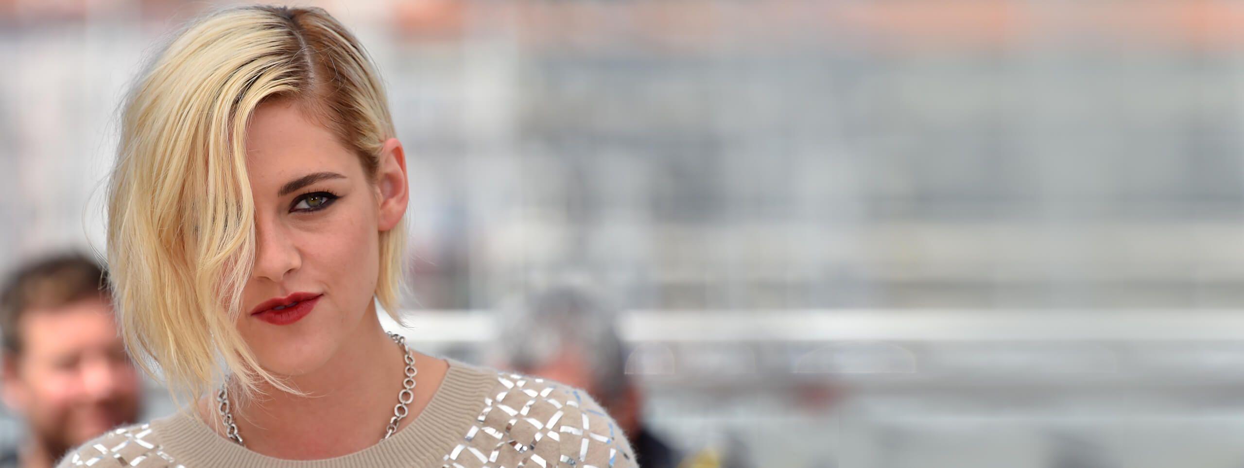 Kristen Stewart avec un carré blond