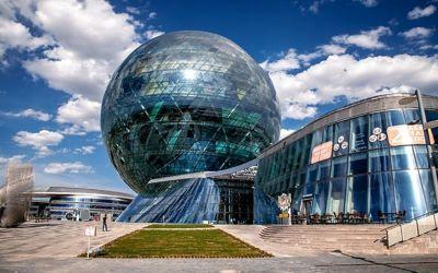 Выставочные павильоны EXPO 2017