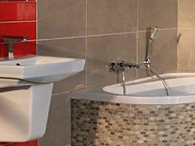 Ванные комнаты и кухни