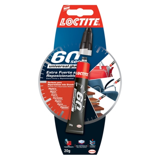60 sec. Universal Glue