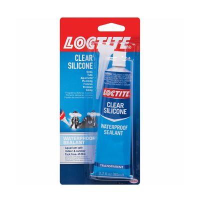 Loctite® Clear Silicone Sealant 2.7 oz