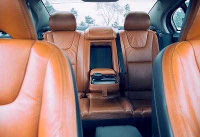 intérieur de voiture en cuir