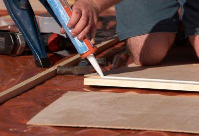 test colle sur bois