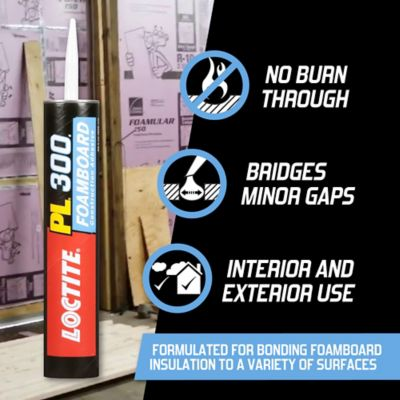 Loctite® PL® 300 VOC Foamboard Adhesive