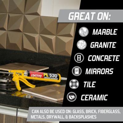Loctite® PL® 530 Mirror, Marble & Granite Adhesive