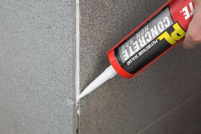 Loctite® PL® Concrete Non-Sag Polyurethane Sealant