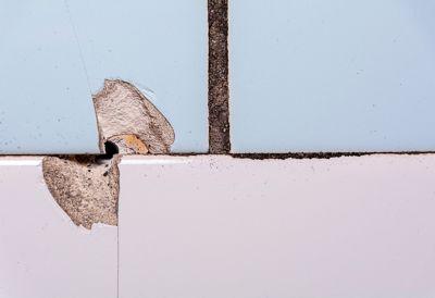 Super glue ceramic tile