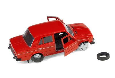 Broken toy car