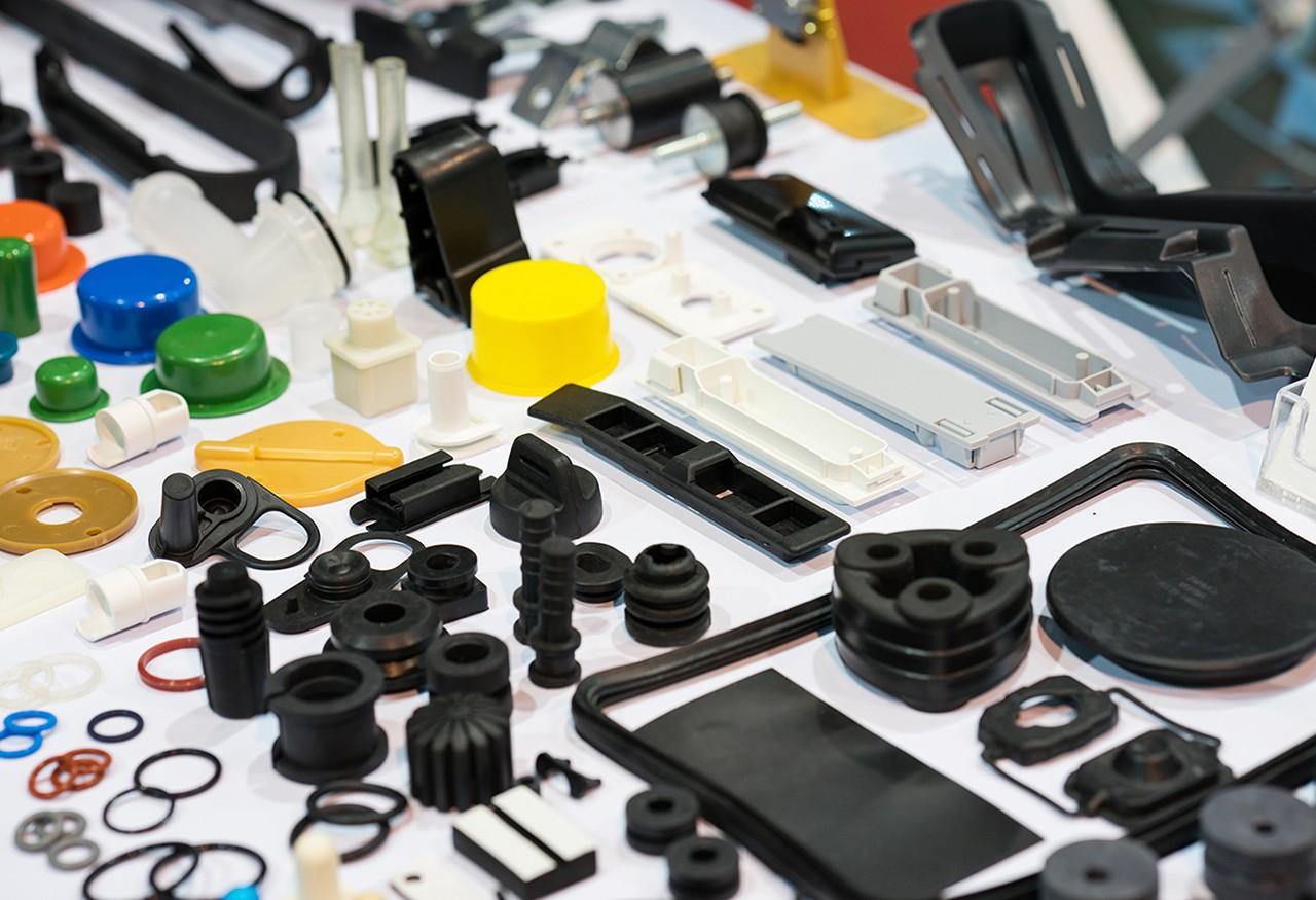 various plastics