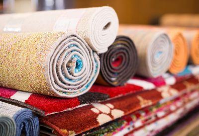 fabric rugs