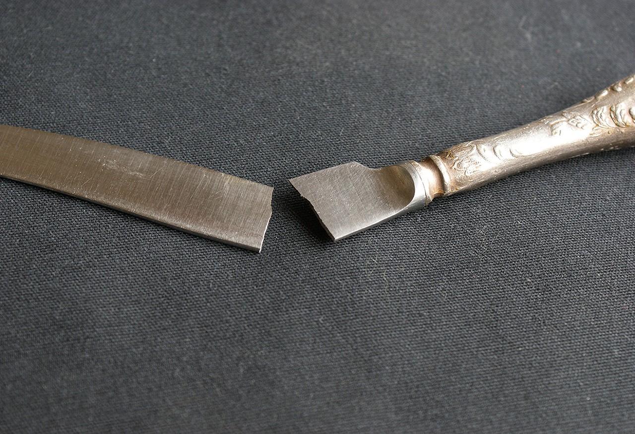 broken metal