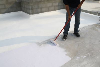 Acrylic waterproofing or silicone-rubber