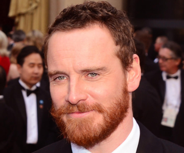 Man with red hairstyle and beard