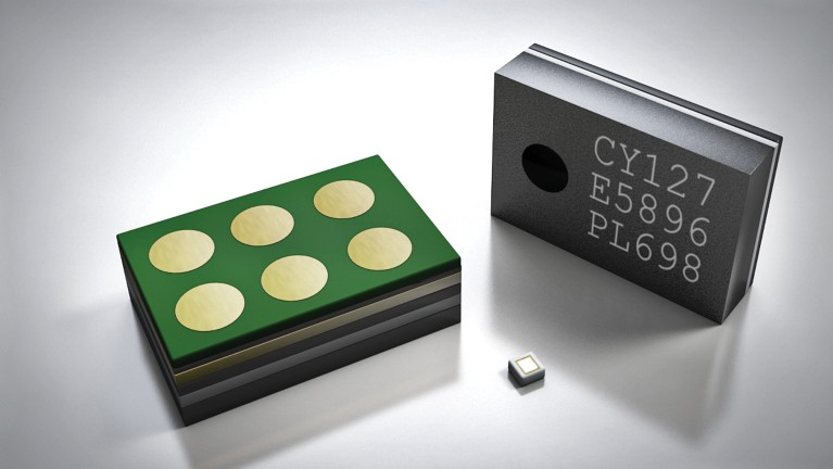 3d illustration of micro-electro-mechanical-system sensor solutions for the electronic industry