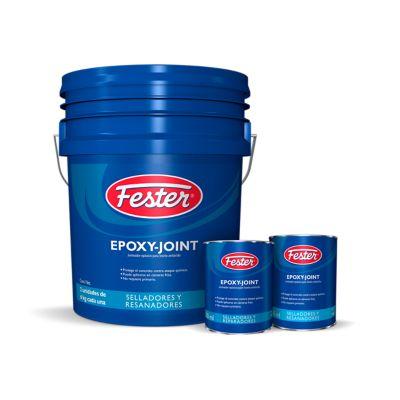 Fester Epoxy-Joint