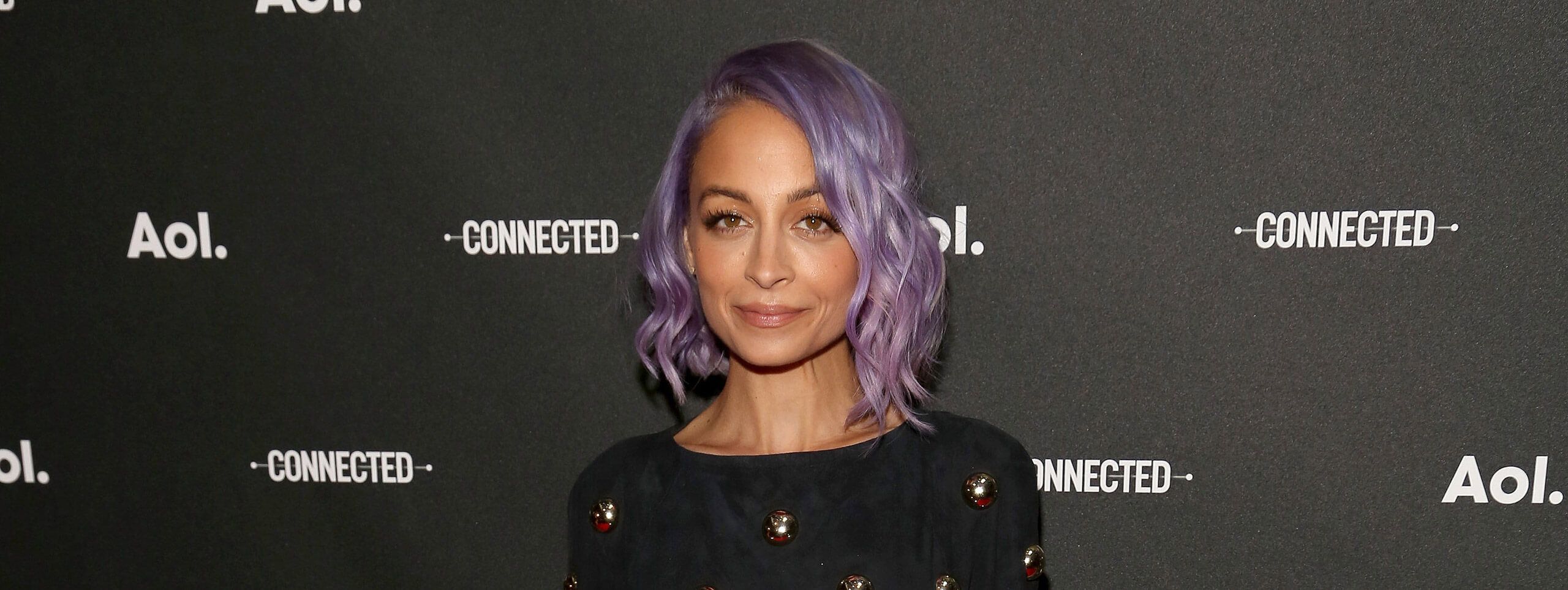 Nicole Richie cheveux violets