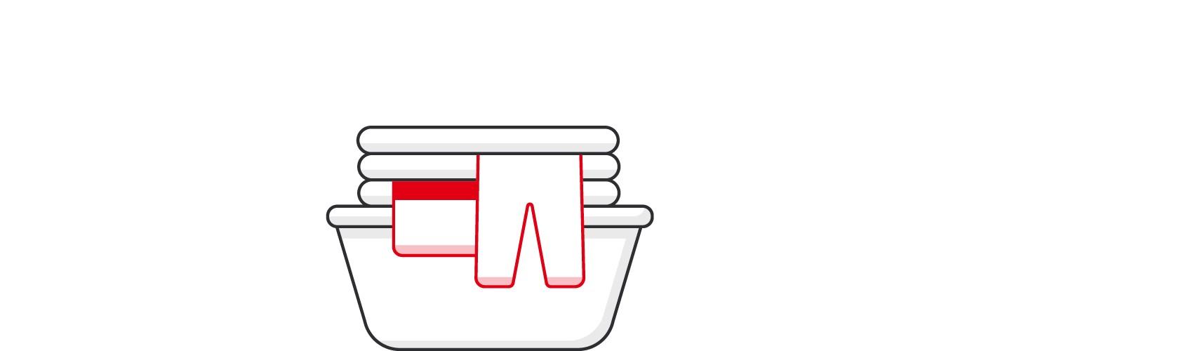 """Ein Symbol von Persil für """"Einfachen Ablauf"""""""