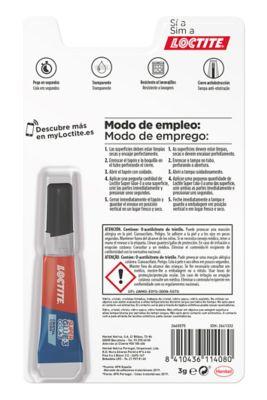 Loctite Super Glue-3 Cristal
