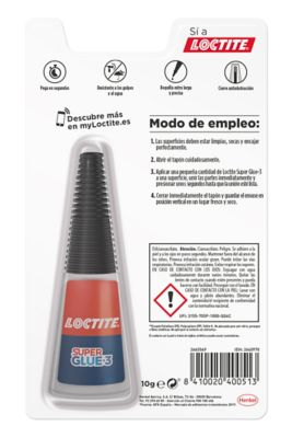 Loctite Super Glue-3 Precisión Max