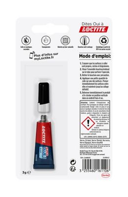 Loctite Superglue-3 Verre