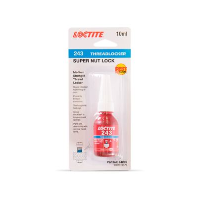 LOCTITE THREADLOCKER 243 - MEDIUM STRENGTH