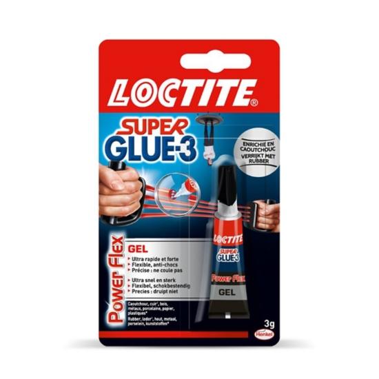 Colle Super Glue-3 Power Flex Gel