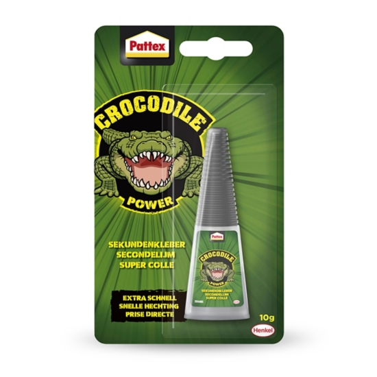 Pattex Crocodile Power Sekundenkleber