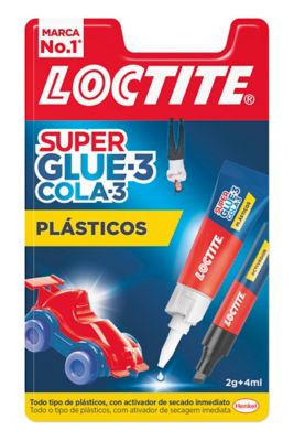 Loctite Super Glue-3 Plásticos