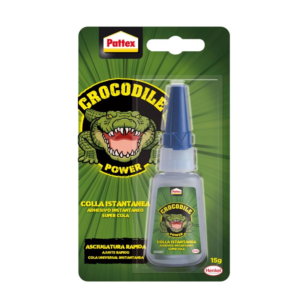 Pattex Crocodile Power Adhesivo Instantáneo