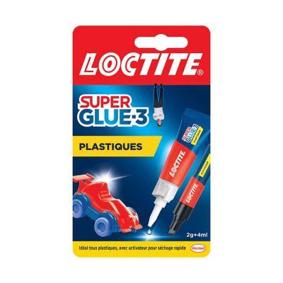 Loctite Superglue-3 Spécial Plastiques