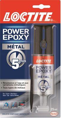 Colle Power Epoxy Métal