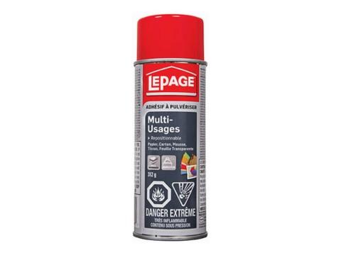 Adhesif a Pulveriser Multi-Usages