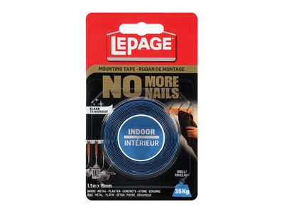 No More Nails® Indoor Mounting Tape
