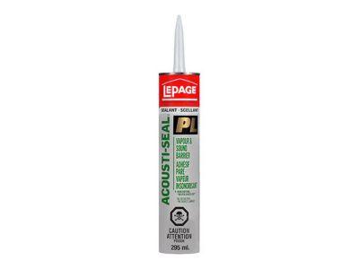 PL® ACOUSTI-SEAL Vapour Barrier & Sound Reduction Adhesive