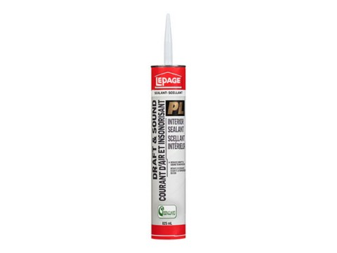 LePage® GreenSeries™ Draft & Sound Interior Sealant