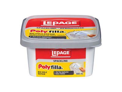 Poly Filla® Spackling Big Hole Repair