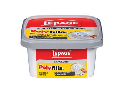 Poly Filla® Spackling Big Hole Repair