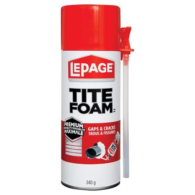 LePage TITE FOAM Gaps & Cracks