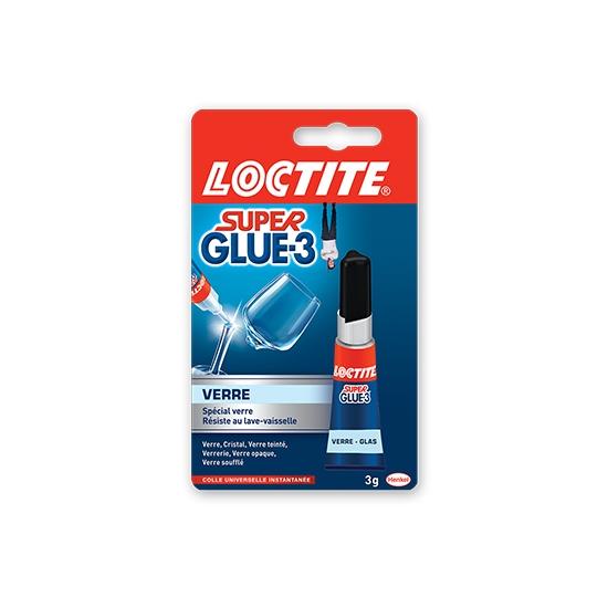 Colle Super Glue 3 Spéciale Verre