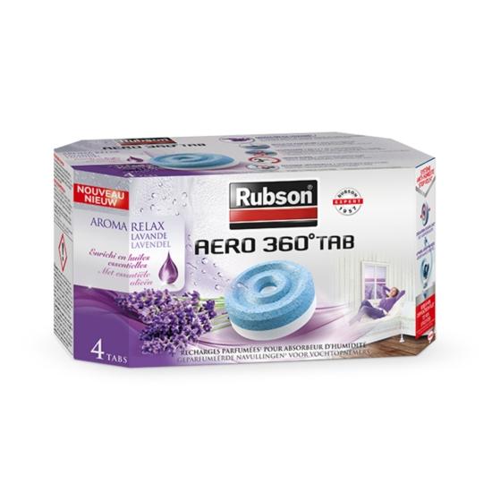 Recharges Aero 360° - Aroma Relax  Lavande x4