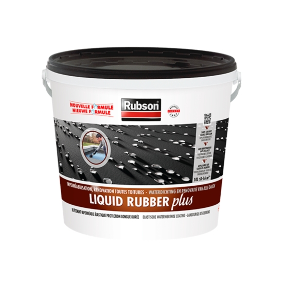Liquid Rubber Plus Pour Toitures Plates