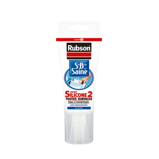 Mastic Tube Joint Sanitaire Silicone Anti-Moisissures