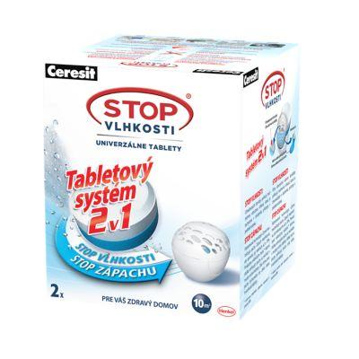 Tabletové náplne do pohlcovačov vlhkosti PEARL
