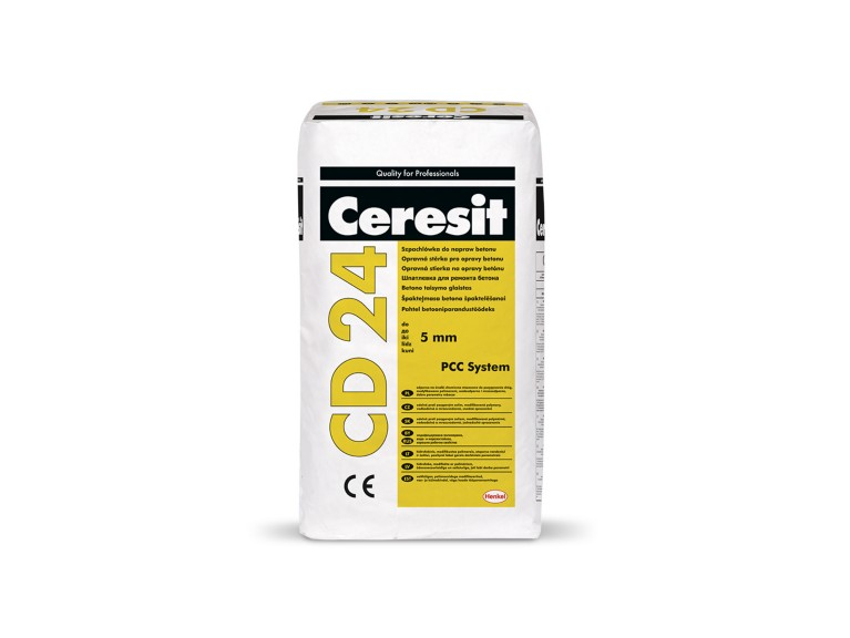 Ceresit CD 24 Фин разтвор за поправка на бетон, за пластове до 5 mm