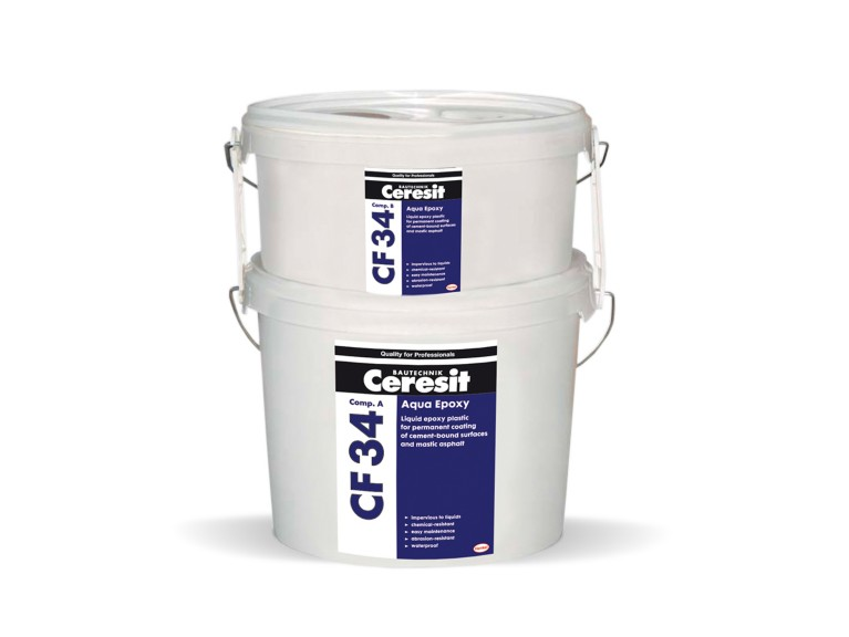 Ceresit CF 34 Двукомпонентна епоксидна боя с висока устойчивост на водна основа