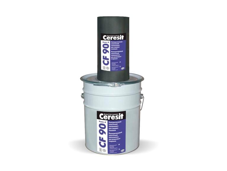 Ceresit CF 90 Двукомпонентен ПУ еластичен пълнител за гумени подложки